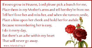 irish poems and blessings for funerals