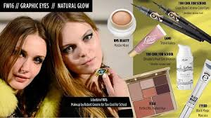 fall 2016 makeup trends natural glow
