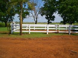 3 Rail Vinyl Fence Pvc With Gates This Is A Picture From O Flickr