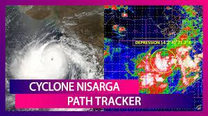 Cyclone Nisarga Live Satellite Map ...