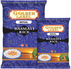 golden label royal basmati rice