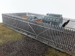 Laser Cut Oo Ho Gauge Security Fence Pack Of 4 Sections Each 200mm New Version Ebay