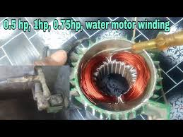 water pump motor winding connection