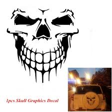 Kayaking Kayak Skull Vinyl Decal Car Window Bumper Sticker