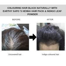 indigo leaf powder 200g earthy sapo