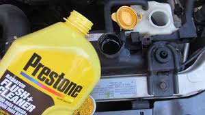 flush a radiator and change the coolant