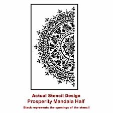 Mandala Stencil Prosperity Mandala Stencil For Furniture Walls Or Floors Diy Home Decor Better Than Decals Sold By Cutting Edge Stencils On Storenvy