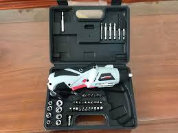 Bộ máy khoan và vặn ốc vít đa năng có sạc tích điện Joust Max (Trắng)  -Khoan băn vit không dây - dùng pin 4.8V, máy khoan, bắn vit, máy khoan cầm