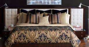 ideas for black and gold luxury bedding
