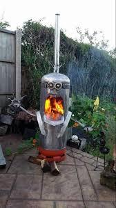 gas bottle wood burner propane tank