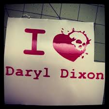 Daryl Dixon I Heart Skull Car Decal Sticker Car Decals Stickers Car Decals Vinyl Sticker