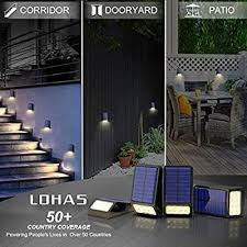 Lohas Led Solar Fence Post Lights Dusk To Dawn Solar Lights Led Outdoor Soft White 3000k Ip65 Waterproof 8 Leds Deck Post Solar Light For Security Outdoor Night Light Auto On Off Patio