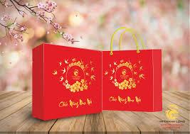 Làm hộp giấy đựng quà tết giá rẻ tại đà nẵng