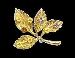 signed anson vine costume jewelry