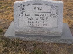 Faye Townsend Van Winkle (1913-1997) - Find A Grave Memorial