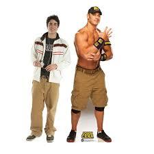 Advanced Graphics John Cena Navy And Gold Wwe Cardboard Stand Up Wayfair