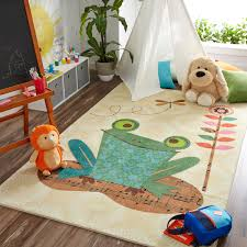 Shop Mohawk Home Prismatic Patch Frog Area Rug 5 X8 As Is Item Overstock 23008813