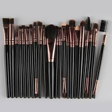 pcs nylon eye lip makeup brushes set