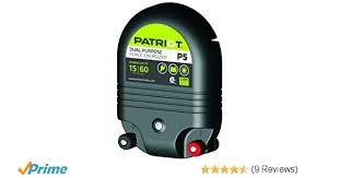 Patriot P5 15 Mile Fence Charger Dual Purpose Isp Paris