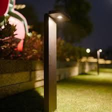 China Landscape High Quality Led Solar Fence Post Lights China Outdoor Light Landscape Light
