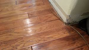 engineered hardwood flooring water