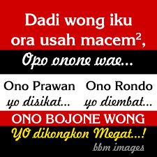 caption lucu singkat fb bahasa jawa captionbaru