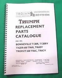 motorcycle manuals parts book 1965