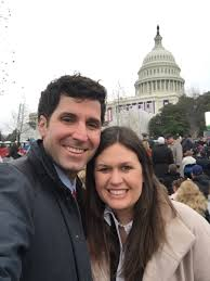 """Bryan Sanders on Twitter: """"So proud of my amazing wife @SarahHuckabee who  starts her new job as Principal Deputy White House Press Secretary today…  https://t.co/7e1ESjP1a4"""""""
