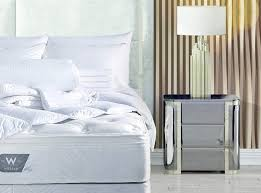 w hotels pillow top bed bedding set