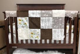 custom girl crib bedding boho
