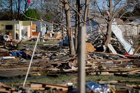 Jonesboro, Arkansas causing severe damage