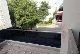 glass railing design balcony glass