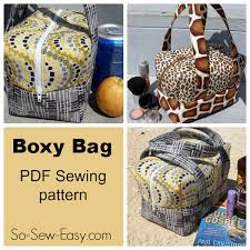 the boxy bag pattern a fun