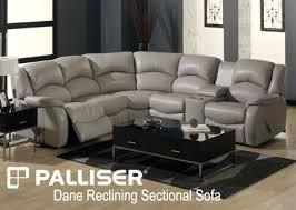 palliser reclining sectional seats