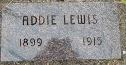 Addie Lewis (1899-1915) - Find A Grave Memorial