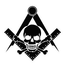 Widow S Son Square Compass Masonic Vinyl Decal