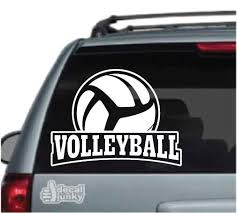 Volleyball Car Decals Stickers Decal Junky