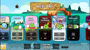 Angry Birds Seasons Gameplay 2 - YouTube