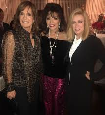 Soap Stars Joan Collins, Linda Gray and Donna Mills Pose Together ...