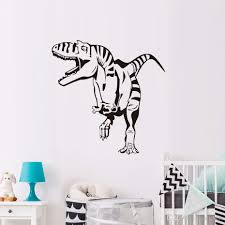 Dctop Baby Dinosaur Wall Stickers For Kids Rooms Wall Decor Vinyl Waterproof Wall Decals Modern Home Decorationsivo Mural Living Room Decals Quote Decals For Walls Quote Stickers For Wall From Joystickers 7 88