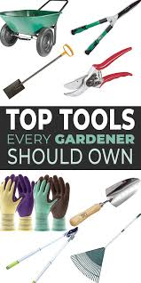 top gardening tools list the best