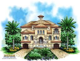 beach house plan 3 story coastal style