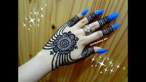 simple beautiful stylish mehndi design