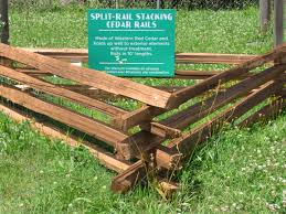 Split Rail Stacking Cedar Rails Capitol City Lumber