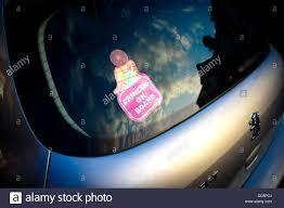 Princess On Board Car Sticker Stock Photo Alamy