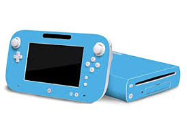 Amazon Com Ice Blue Vinyl Decal Faceplate Mod Skin Kit For Nintendo Wii U Console By System Skins Video Games