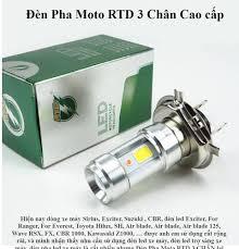 đèn led, đèn led xe máy, đèn trợ sáng, den pha led xe may, đèn xe máy siêu  sáng, led h4 3 chân,Bóng Đèn Led Ánh Sáng Trắng Cho Xe Máy -