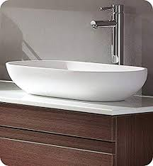 acrylic modern bathroom vessel sink
