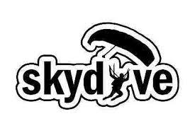 Skydiving Sticker Sky Diving Skydive Parachute Flying Cool Decal Choose Color Ebay