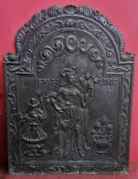 louis xiii style cast iron fireplace